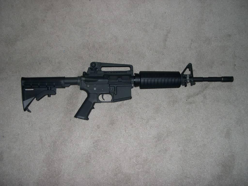 ARES Full Metal M4 (Advanced?) DSCN1999