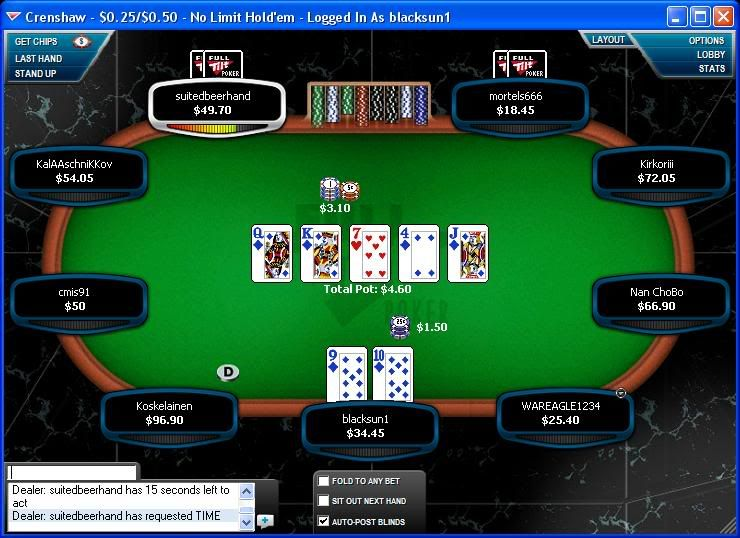 Couple of str8 flushes Str8flush13-10-08