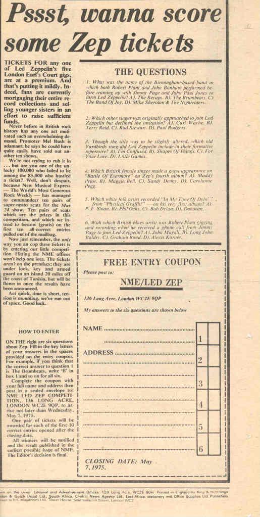ARTICLES DE PRESSE LED ZEPPELIN - Page 2 ARTICLEZEP-1