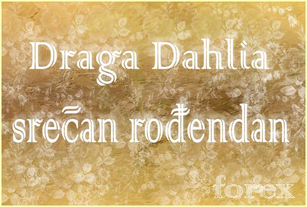 Dahlia, sreæan roðendan ... Dahlia