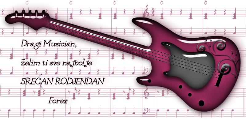 Musician srecan rodjendan Musician