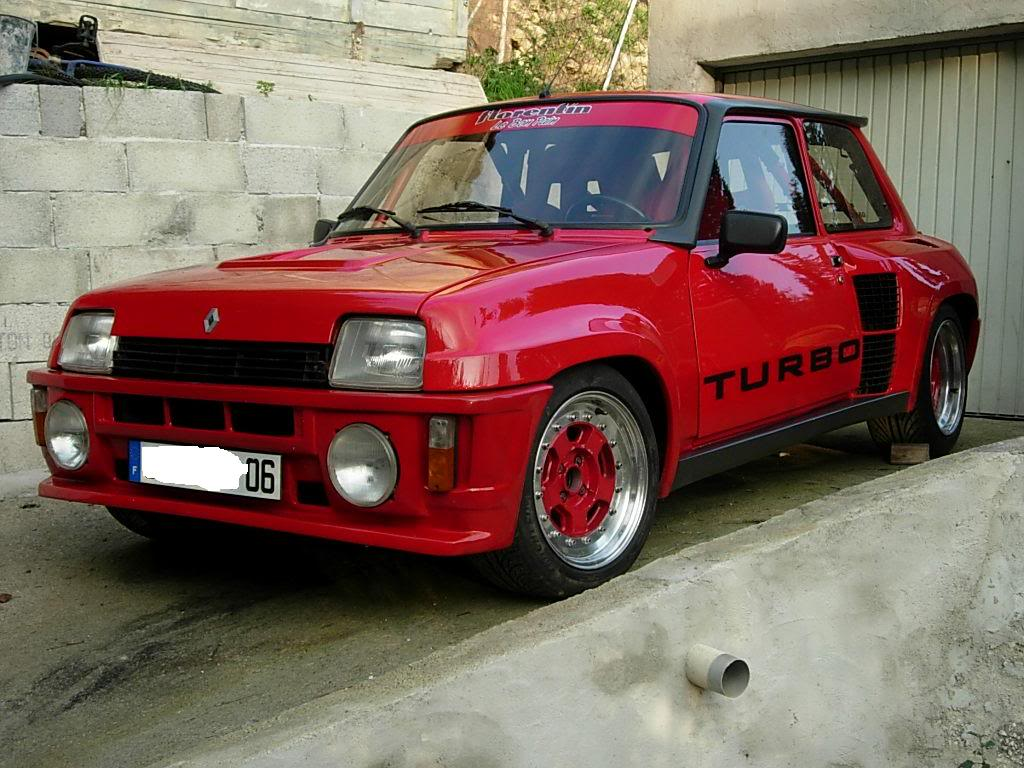 restauration de ma renault 5 turbo 2 Turbo
