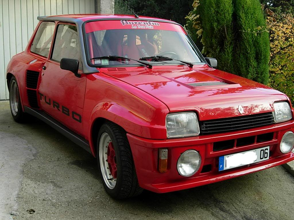 restauration de ma renault 5 turbo 2 Turbo2