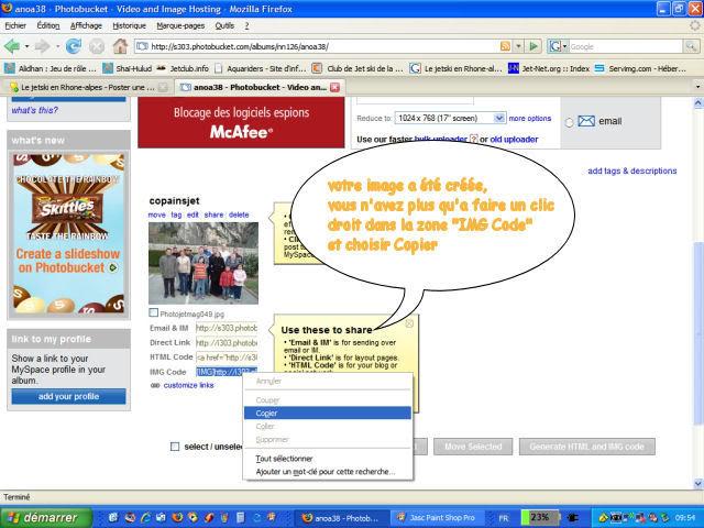 Tuto : Insertion Photos dans un forum Tuto_image6