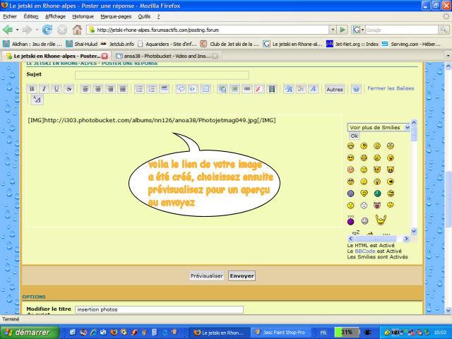 Tuto : Insertion Photos dans un forum Tuto_image8