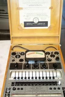 Precision 912 Tube Tester Precision10-12