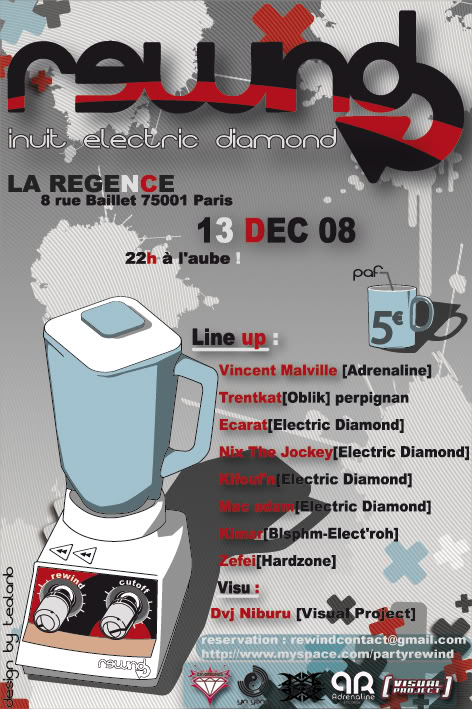 13/11 REWIND @ LA REGENCE with electric diamond Rewind13finibytealanb
