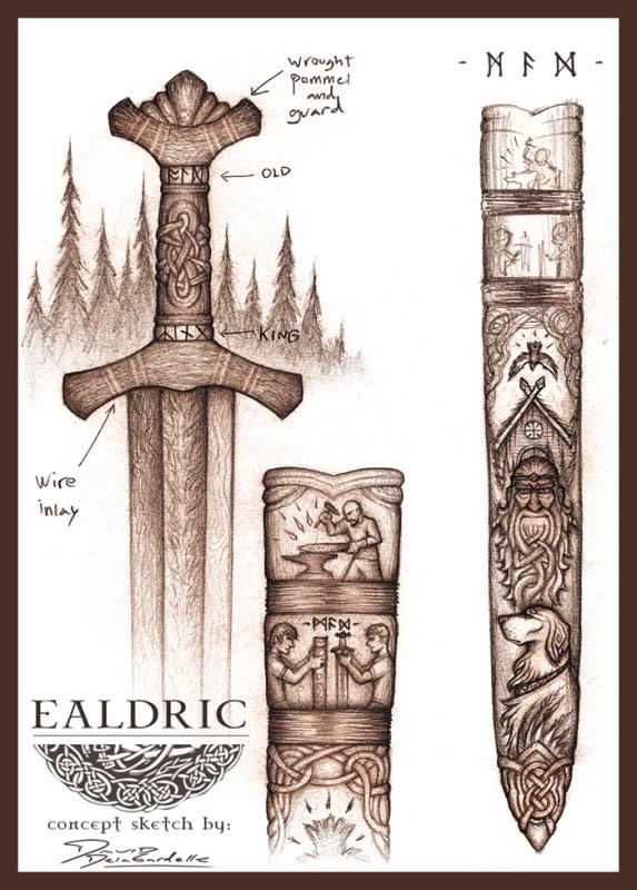 épées Ealdricsketch