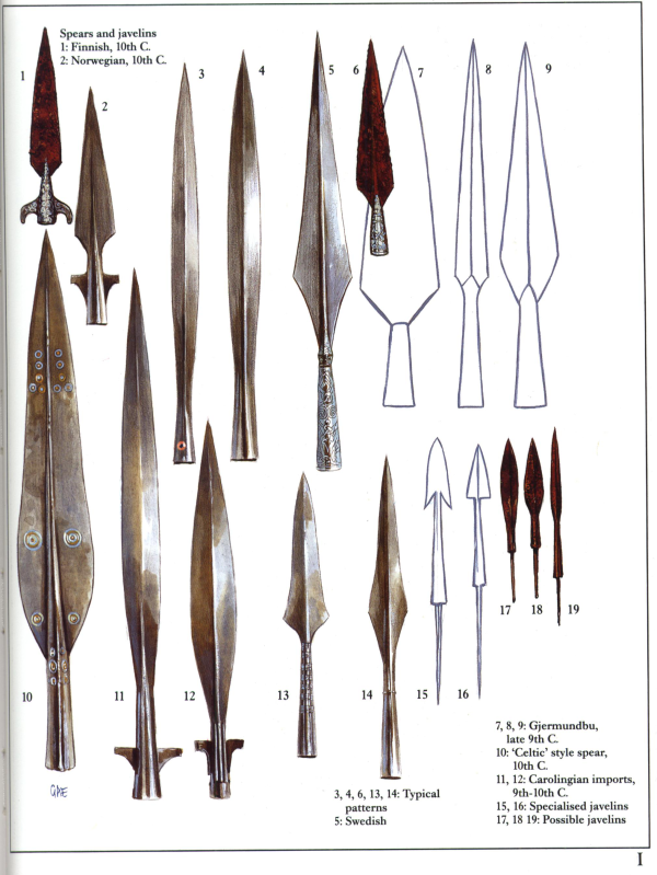 épées Lancevikings