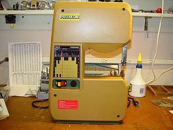 Proxxon Micro Bandsaw - WHAT?!?!? MBSE-1