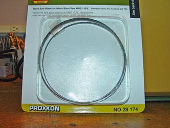 Proxxon Micro Bandsaw - WHAT?!?!? MBSE-21