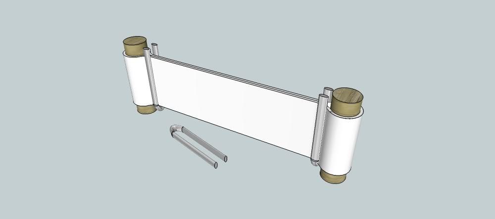 Pressing All-fiberglass crossbow limbs Loop