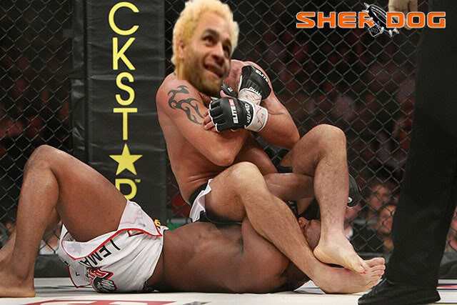 Paul 'Semtex' Daley photoshop Josh Koscheck commpetition Romo3