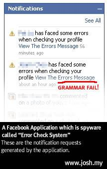 Ne nasedajte prevaram na Facebooku! Facebook-malware-notification