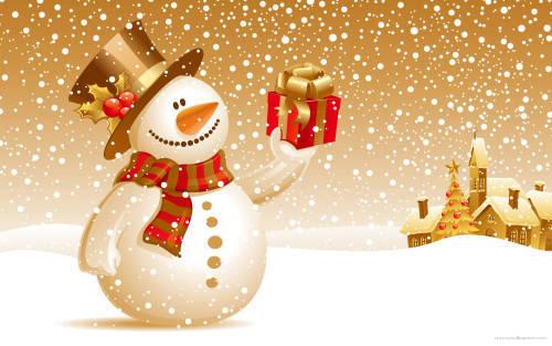 Praznična Božično-novoletna ozadja za na vaš računalnik (wallpapers) 2010_8a