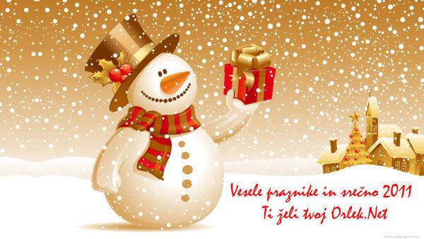 Praznična Božično-novoletna ozadja za na vaš računalnik (wallpapers) 2011_8d