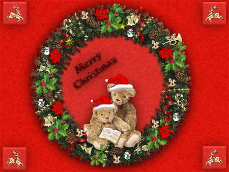 Praznična Božično-novoletna ozadja za na vaš računalnik (wallpapers) Bozic03s