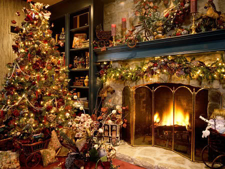 Praznična Božično-novoletna ozadja za na vaš računalnik (wallpapers) Bozic20s