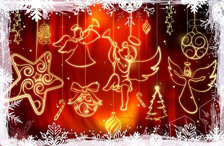 Praznična Božično-novoletna ozadja za na vaš računalnik (wallpapers) Bozic47s