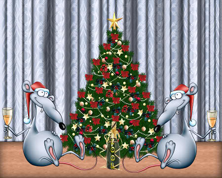Praznična Božično-novoletna ozadja za na vaš računalnik (wallpapers) Bozic57s