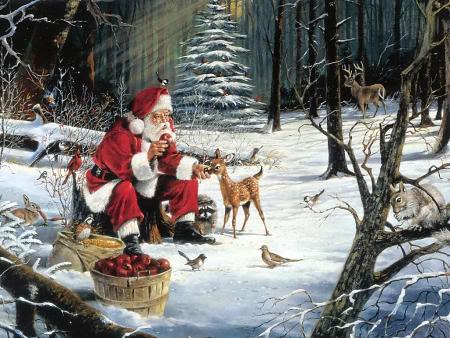 Praznična Božično-novoletna ozadja za na vaš računalnik (wallpapers) Bozic68s