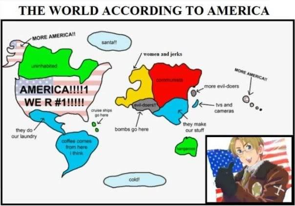 Odd Pictures Worldaccordingtoamerica