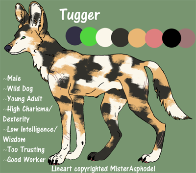 Tugger (Wild Dog) SmallTugger