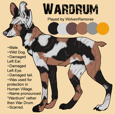 WarDrum (Wild Dog) SmallWardrum