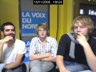 Interviews du groupe (vidéo, audio ou écrites) - Page 2 Cam30