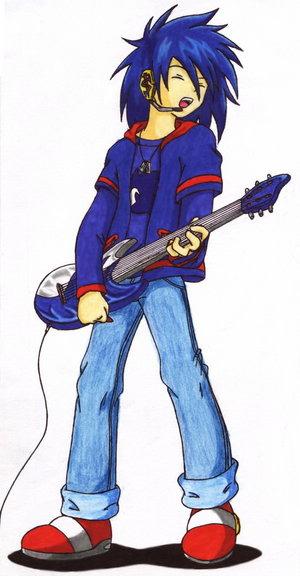 -Ficha de Sonic Motto- Human_Sonic___Rockin___by_Maxus_the