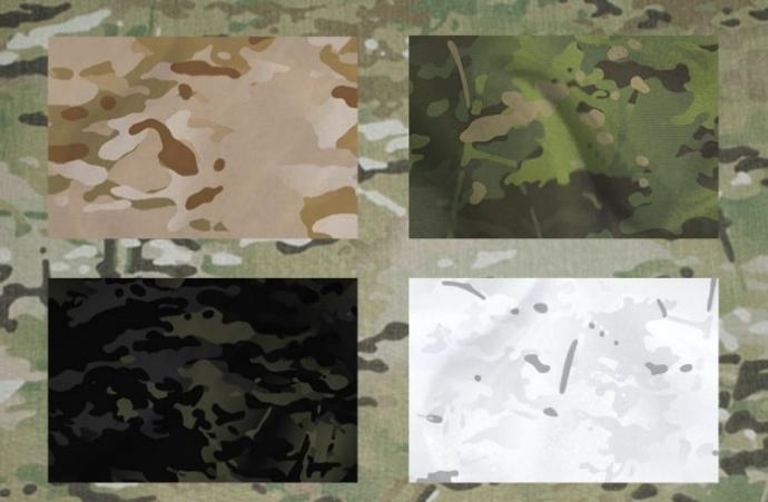 Montaraces Airsoft Club - Portal Multicam-patterns