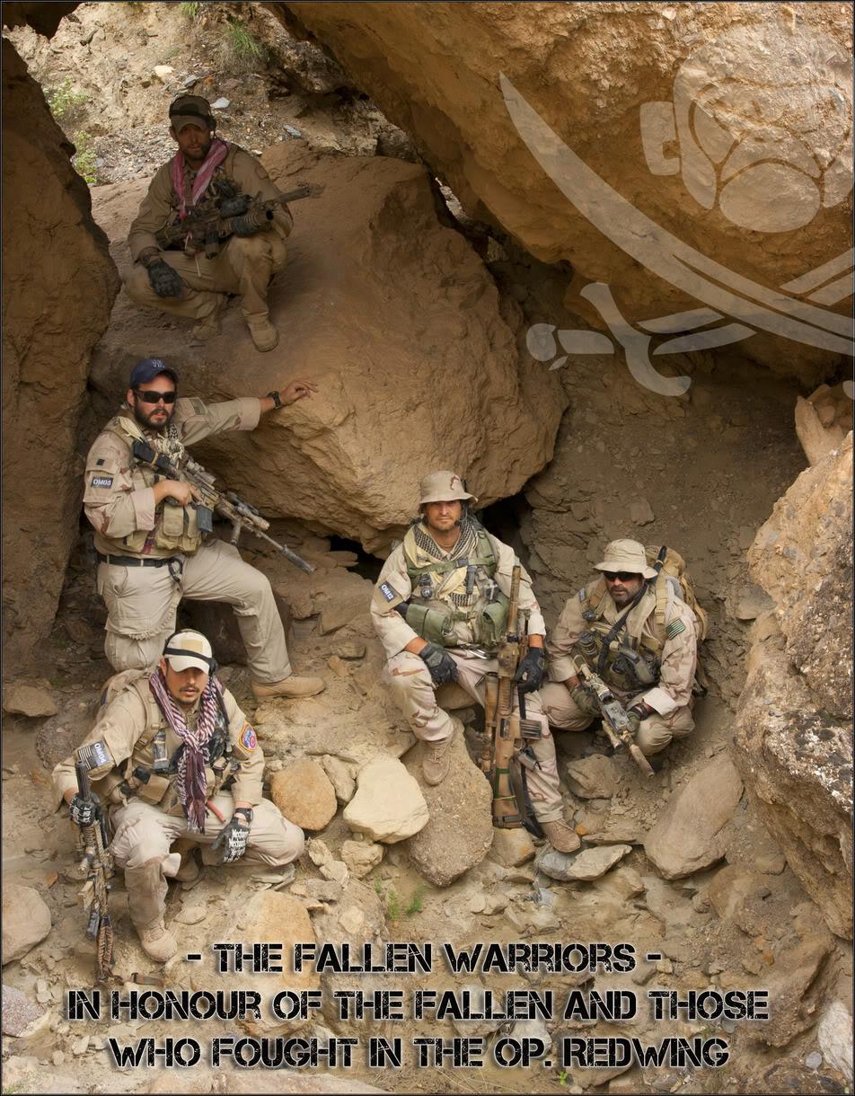 The Fallen Warriors - In honour of the fallen in OP. RW.  Reenactment moderno 2005 37a0dfc2