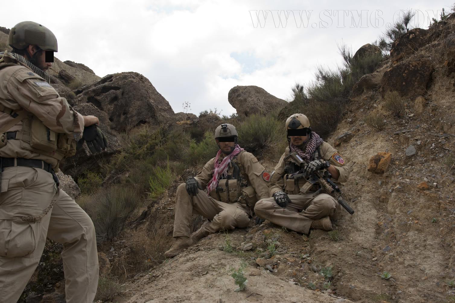 The Fallen Warriors - In honour of the fallen in OP. RW.  Reenactment moderno 2005 8692646b