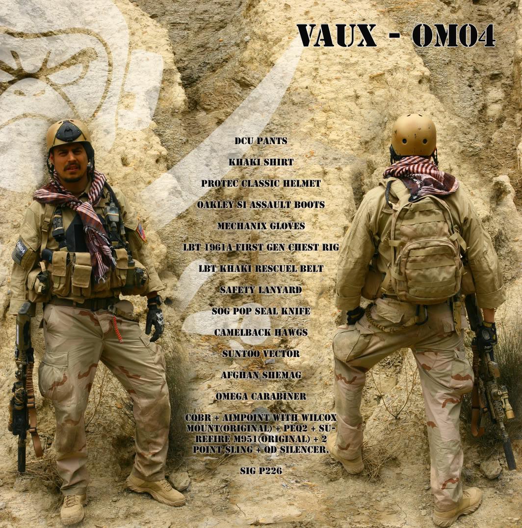 The Fallen Warriors - In honour of the fallen in OP. RW.  Reenactment moderno 2005 Ceecc639