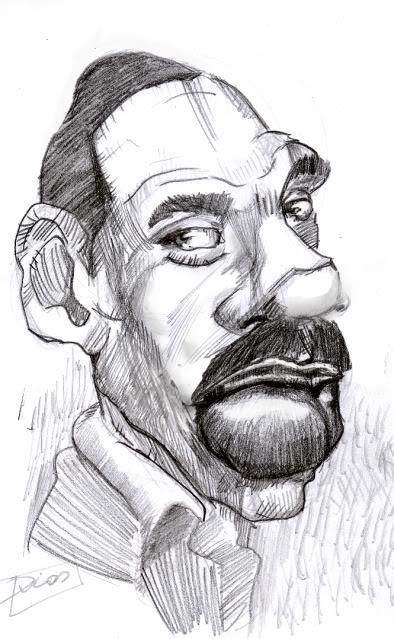 A caricatura de hoje é.... EddyMurf