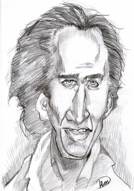 A caricatura de hoje é.... Nicolascage