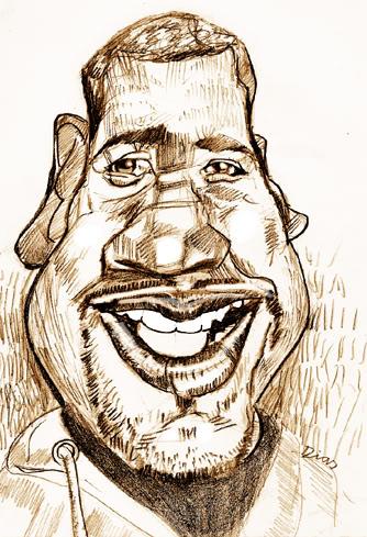 Caricatura dos Apagatti Ramon