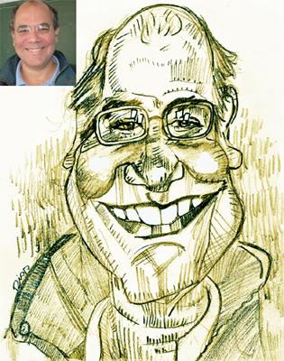 Caricatura dos Apagatti Ricardo