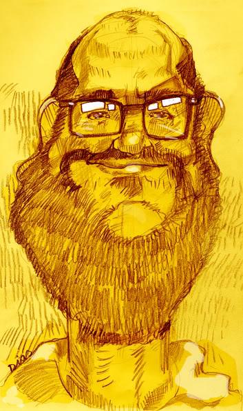 Caricatura dos Apagatti Rodrigo