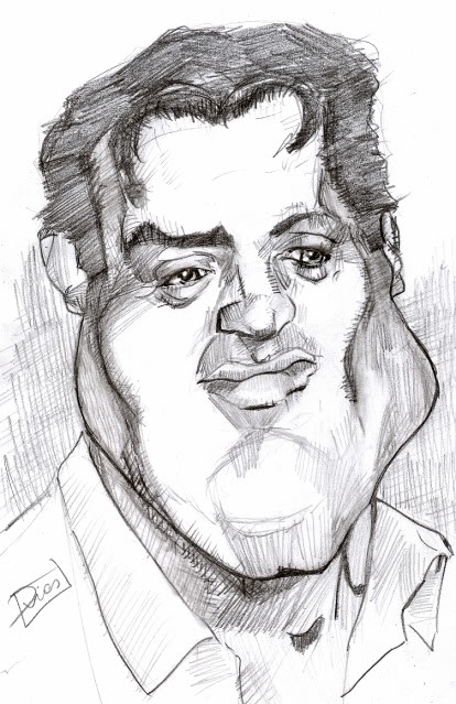 A caricatura de hoje é.... Stallone