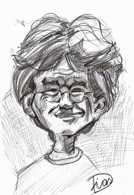 A caricatura de hoje é.... Serginhogroisman
