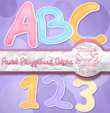 Pastel Playground Alpha & Lil Furry Guy #4 BlogPreview