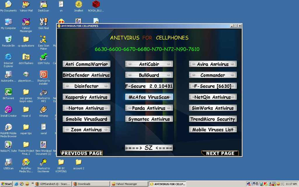 MOBILE ANTI VIRUS COLLECTION IN ONE EXE ANTIVIRUS