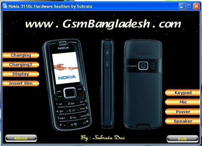 Nokia 3110c Hardware Solution Io3fki