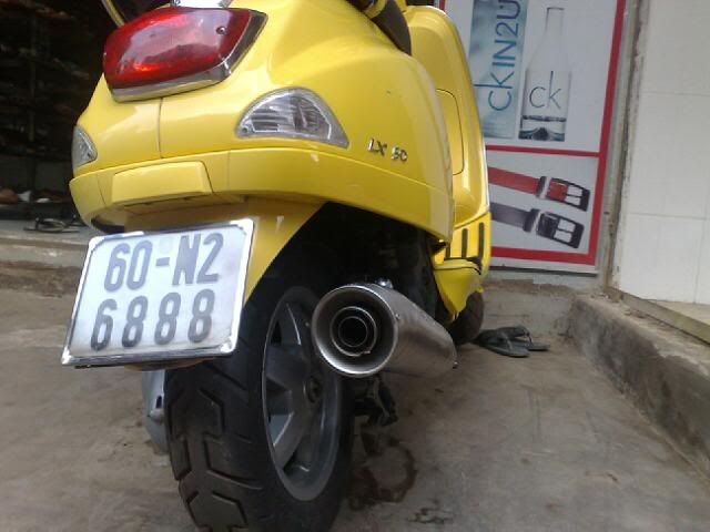 """Vãi hàng """"Vespa LX 150"""" 23012010582"""