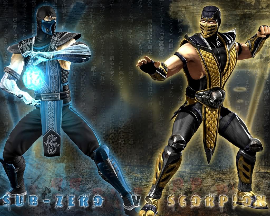 Personaje favorito de Videojuegos Sub-ZerovsScorpionWallpapernamelift