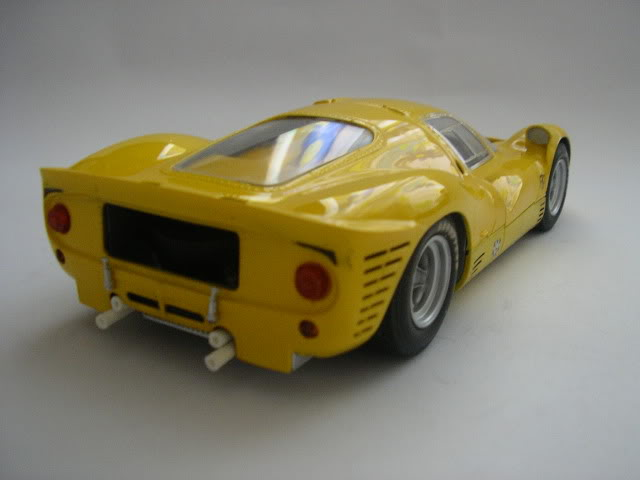 Ferrari 330 P3 (Yellow version) Modelismo731