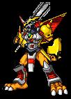 Digimons Lendários.  VictoryGreymon