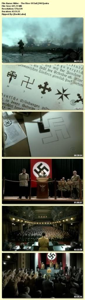 Hitler: The Rise of Evil (2003) RARE! Hitler
