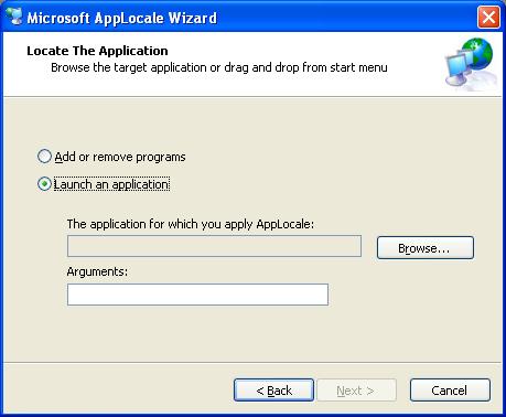 Program (exe) Language Applocale2